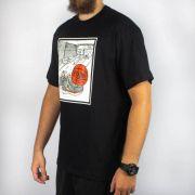 Camiseta Pixa In Quadra Basquete Preta (Tamanho Especial)