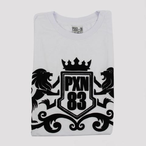 Camiseta Pixa In Royals Logo - Branca (Tamanho Extra)