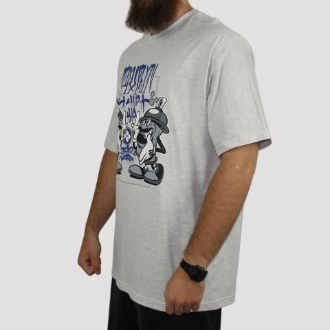 Camiseta Pixa In Spray (Tamanho Extra) - Mescla Claro