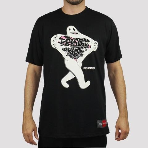 Camiseta Prison Ghost - Preto