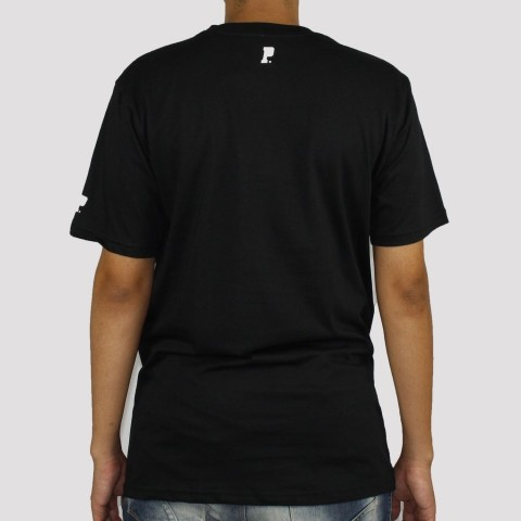 Camiseta Prison Logo Colors - Preto