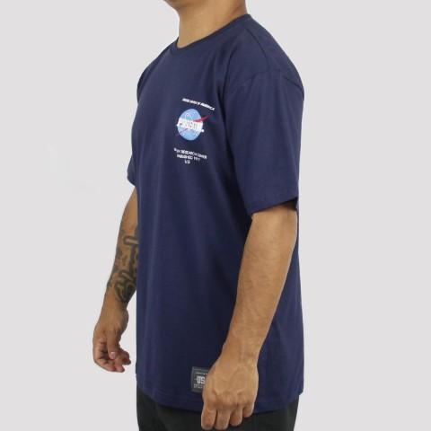 Camiseta Prison Nasa - Azul Marinho