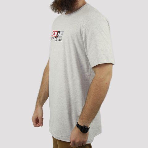 Camiseta Qix Classic - Cinza Mescla