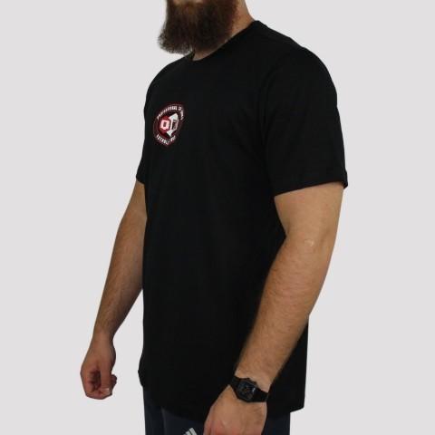 Camiseta Qix Hexagon - Preta