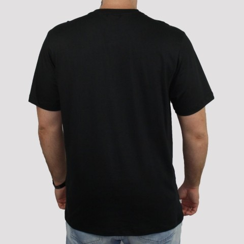 Camiseta Qix Hexagon - Preto
