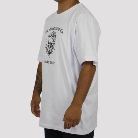 Camiseta Qix Locals Only - Branca