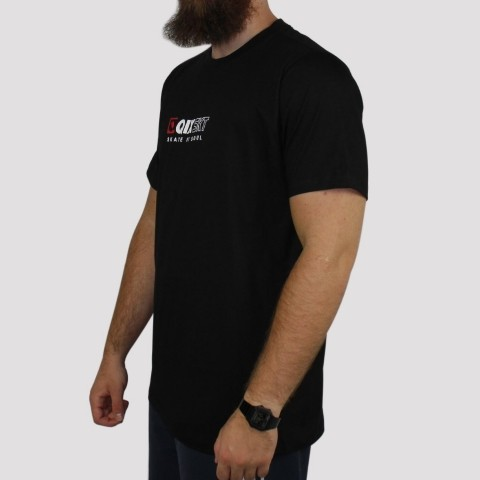Camiseta Qix Logo Basic - Preta