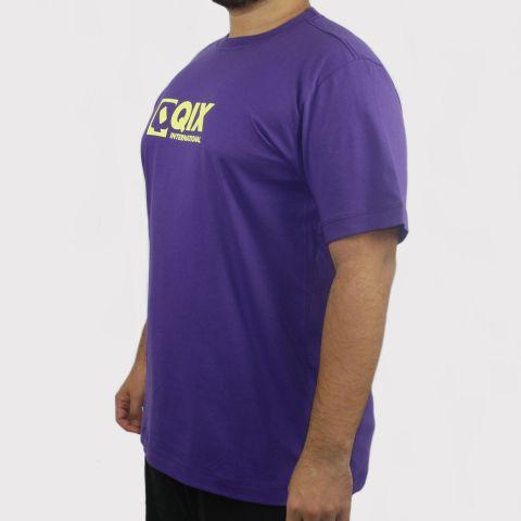 Camiseta Qix Logo - Roxo