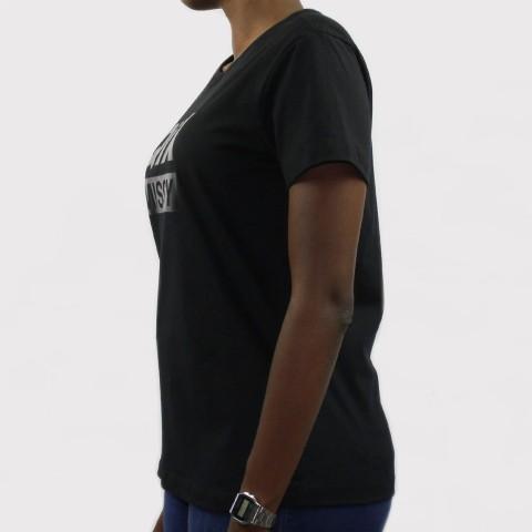 Camiseta Qix Missy Logo - Preto