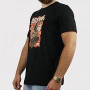 Camiseta Qix Rhythm - Preto