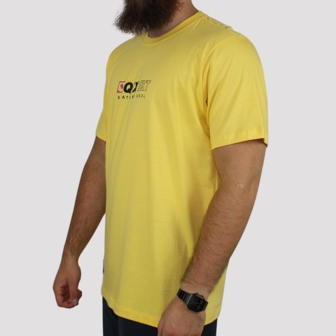 Camiseta Qix Skate My Soul - Amarela