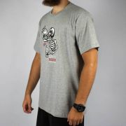 Camiseta Qix Skull Beer Mescla