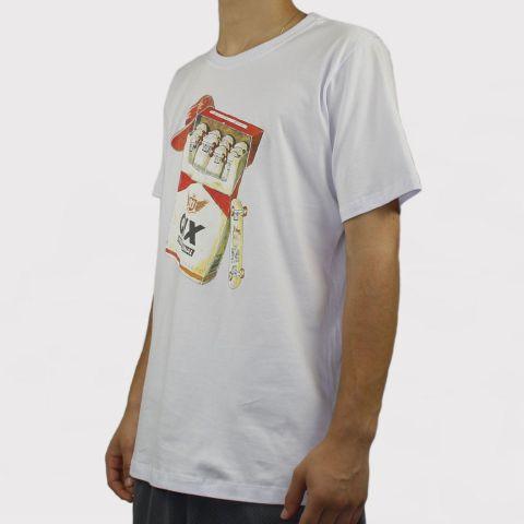 Camiseta Qix Special Maso de SK8 - Branca