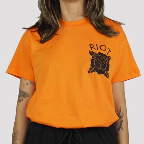 Camiseta Riot Orange Vibes - Laranja