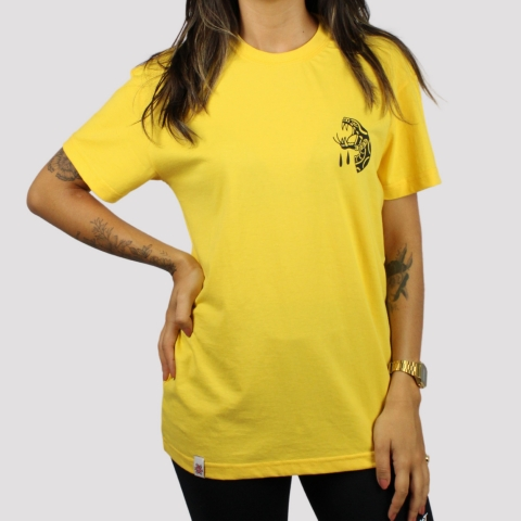 Camiseta Riot Snake - Amarela