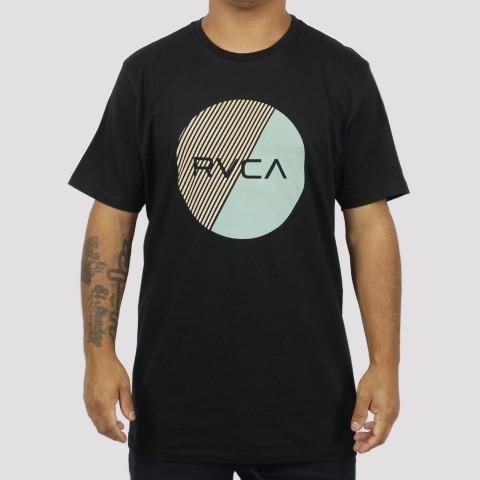 Camiseta RVCA Motors Fill - Preta