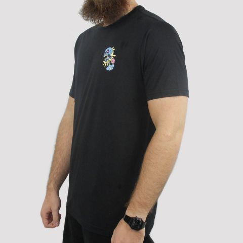 Camiseta Santa Cruz Baked Dot - Preta