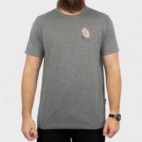 Camiseta Santa Cruz Baked Skull - Cinza