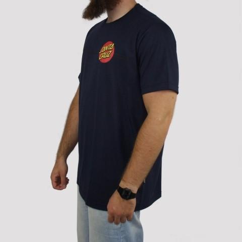Camiseta Santa Cruz Big Classic Dot - Azul Marinho