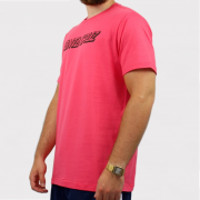Camiseta Santa Cruz Classic Strip 1 Rosa