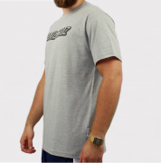 Camiseta Santa Cruz Classic Strip - Cinza/Preto