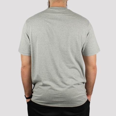 Camiseta Santa Cruz Classic Strip - Cinza Mescla