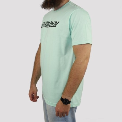 Camiseta Santa Cruz Classic Strip - Verde