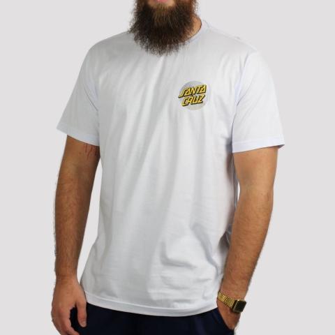 Camiseta Santa Cruz Flex Dot - Branco