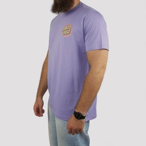Camiseta Santa Cruz Gleam Dot - Lilás
