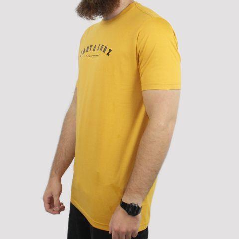 Camiseta Santa Cruz Headline - Amarela