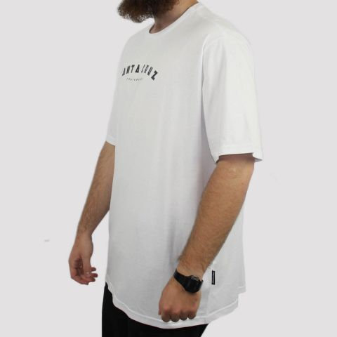 Camiseta Santa Cruz Headliner Big (Tamanho Extra) - Branca