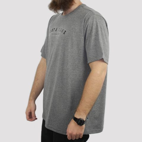 Camiseta Santa Cruz Headliner Big (Tamanho Especial) - Cinza