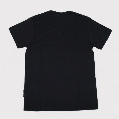 Camiseta Santa Cruz Juvenil Opus Dot - Preto