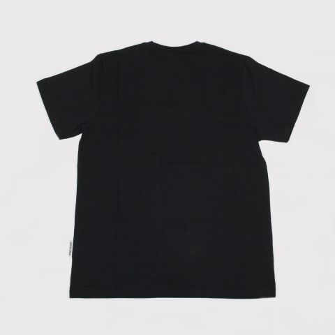 Camiseta Santa Cruz  Juvenil Screaming Hand - Preto