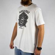 Camiseta Santa Cruz Medusa Branca