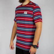 Camiseta Santa Cruz Stranger Vermelha/Azul