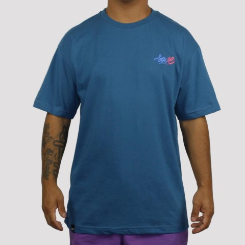 Camiseta Save Degrade - Azul