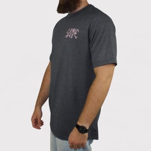 Camiseta Save Eye - Chumbo