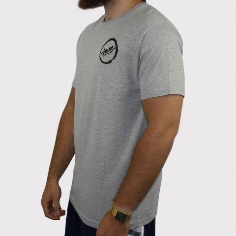 Camiseta Save Fosc - Cinza Mescla/Preto