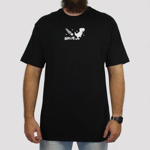Camiseta Save Google - Preto