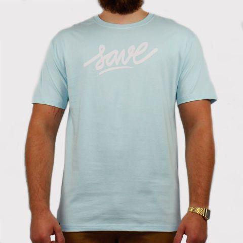 Camiseta Save Logo - Azul