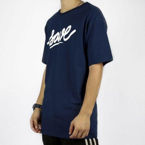 Camiseta Save Logo - Azul Marinho