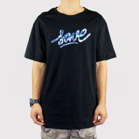 Camiseta Save Logo - Camuflado/Preta/Azul/Branca