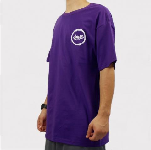 Camiseta Save Logo Fosc - Roxo/Branco