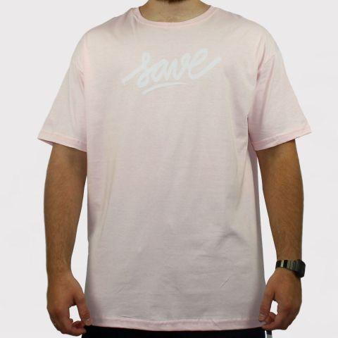 Camiseta Save Logo - Rosa