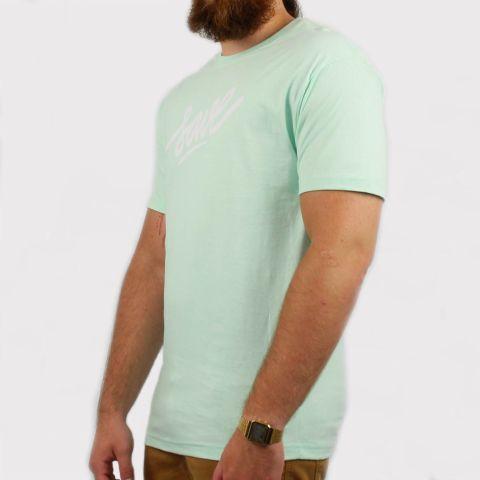 Camiseta Save Logo - Verde Claro/Branco