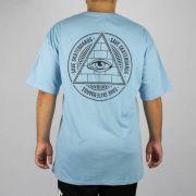 Camiseta Save Skateboard Triângulo Azul