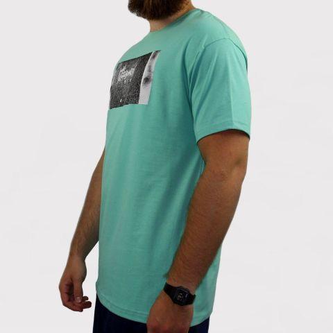 Camiseta Save Skateboarding - Verde