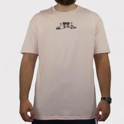 Camiseta Save Um brinde - Rosa