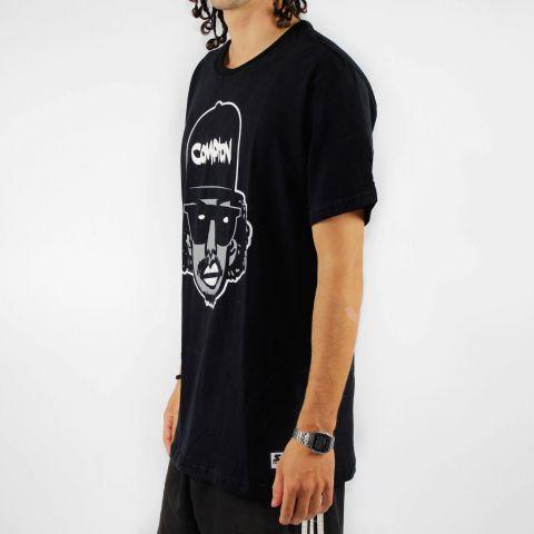 Camiseta Starter Easy - Preta/Branca